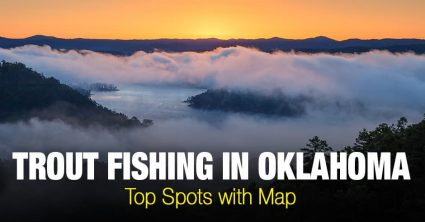 Trout Fishing in Oklahoma (OK) – Top Spots with Map