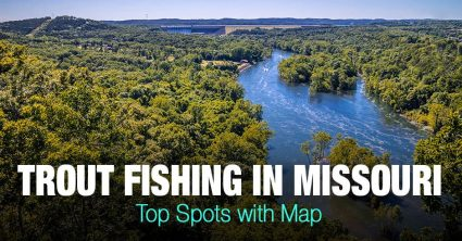 Trout Fishing in Missouri (MS) – Top Spots with Map