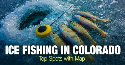 Ice Fishing in Colorado (CO) – Top Spots with Map
