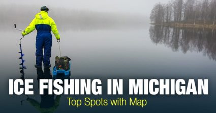 Ice Fishing in Michigan (MI) – Top Spots with Map