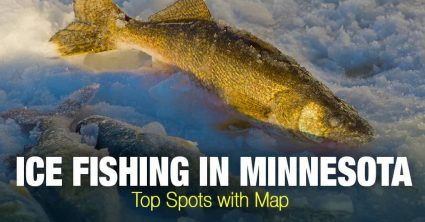 Ice Fishing in Minnesota (MN) – Top Spots with Map