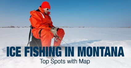 Ice Fishing in Montana (MT) – Top Spots with Map