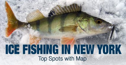 Ice Fishing in New York (NY) – Top Spots with Map
