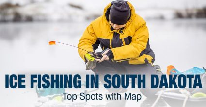 Ice Fishing in South Dakota (SD) – Top Spots with Map