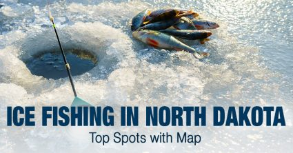 Ice Fishing in North Dakota (ND) – Top Spots with Map
