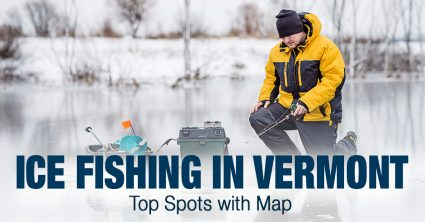 Ice Fishing in Vermont (VT) – Top Spots with Map