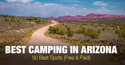 Best Camping in Arizona – Top 50 Spots (Free &  Paid)