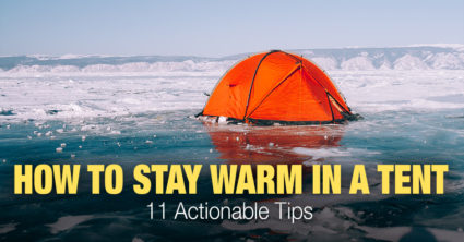 How Do You Stay Warm in a Tent When Camping?